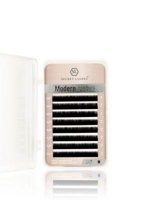 Rzęsy Modern Lashes M 0,07 mała kasetka