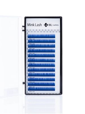 Rzęsy Mink Niebieskie